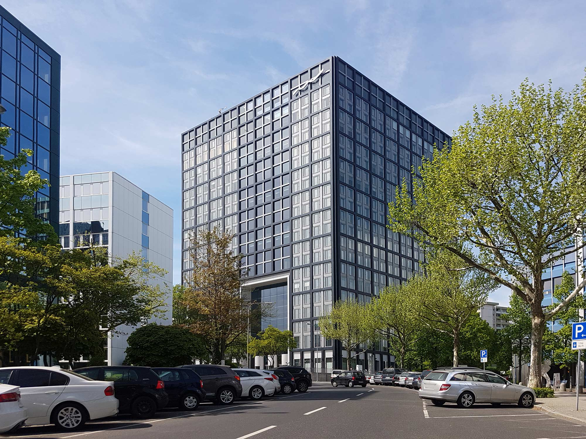 Deutsche Börse Cube in Eschborn - Hauptsitz Clearstream AG
