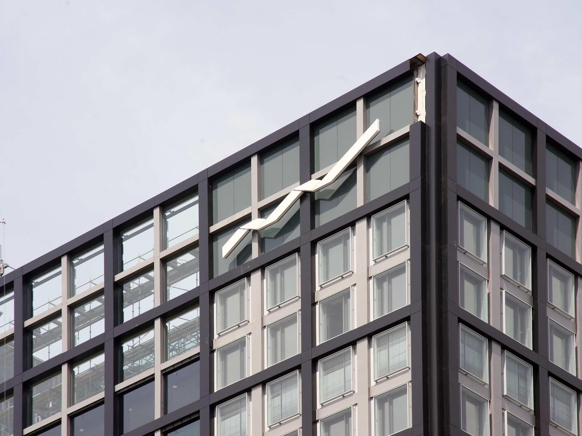 Deutsche Börse Logo - Bürogebäude Eschborn Gruppe Deutsche Börse - Unternehmenssitz