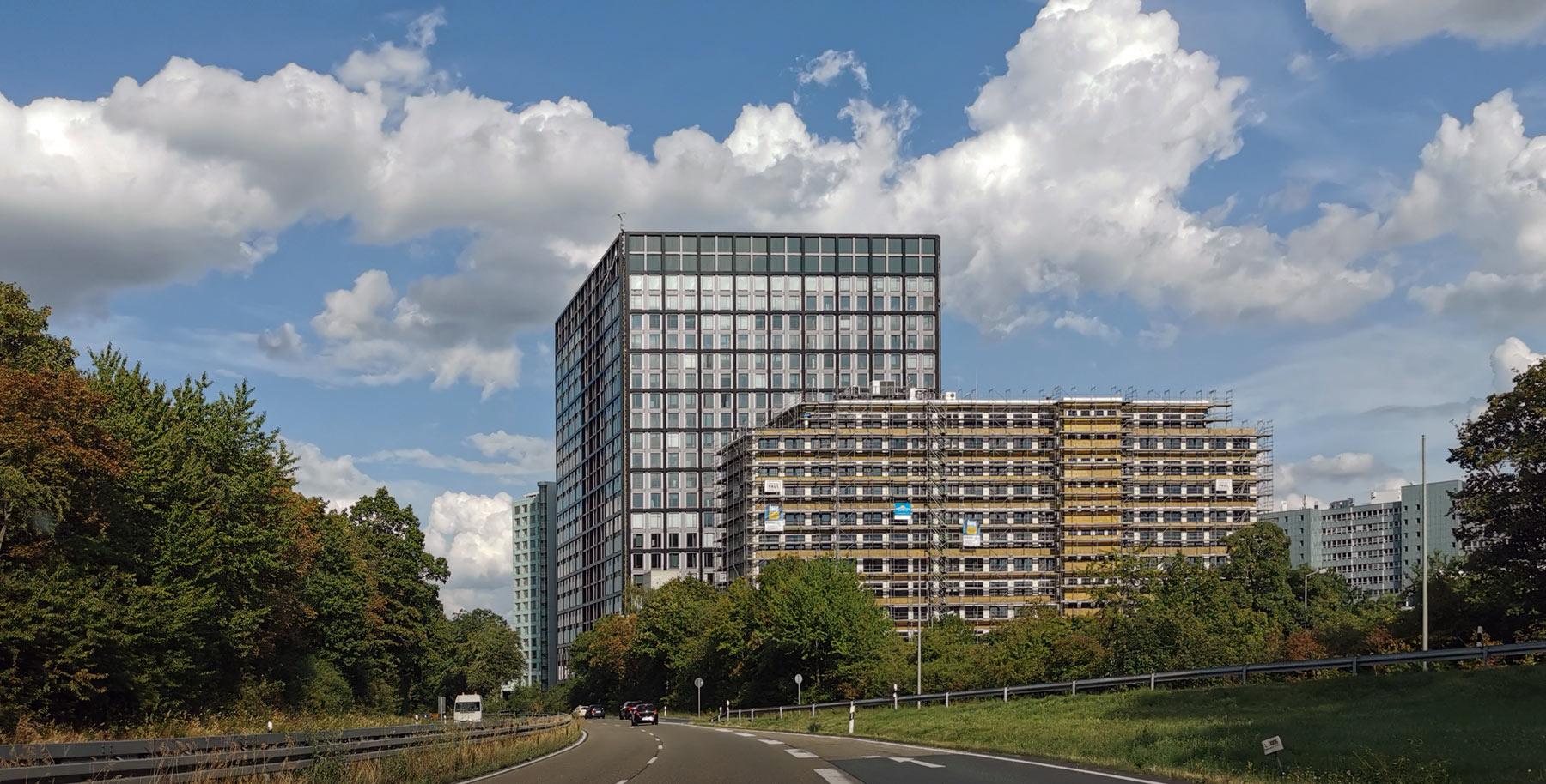 The Cube Eschborn - Deutsche Börse AG in Eschborn - The Cube Deutsche Börse - KSP Engel & Zimmermann