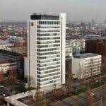 Finanz Informatik Frankfurt - Hochhaus Sparkassen Finanz Informatik - Drehscheibe Frankfurt