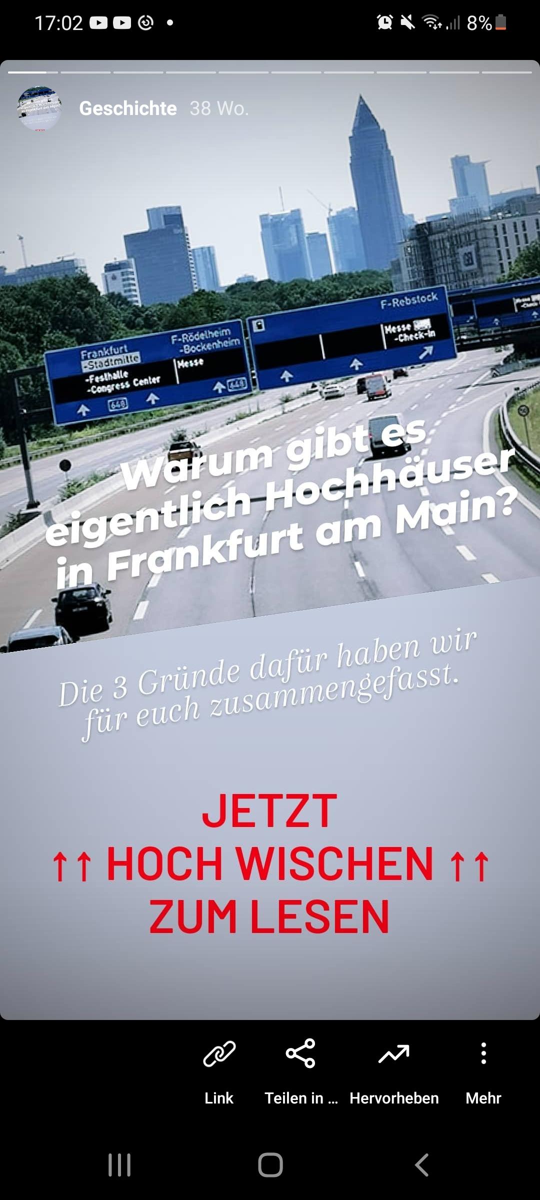 Frankfurt Instagram - Beste Frankfurt Instagram Kanäle - Frankfurt Skyline Instagram