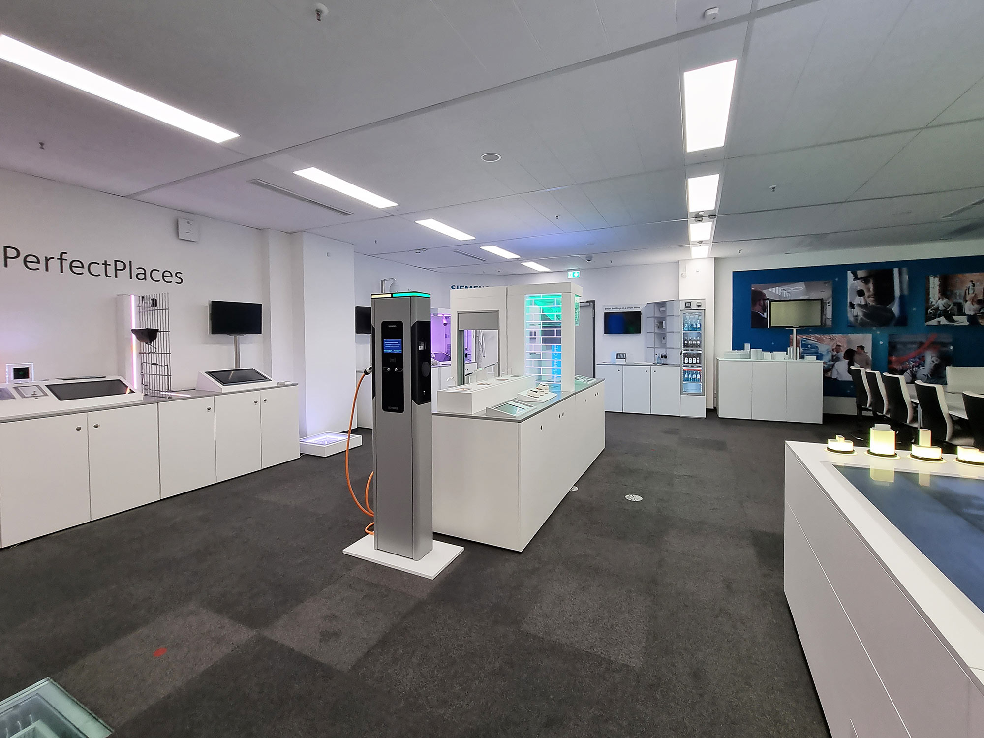 Siemens Smart Infrastructure Showroom - Siemens AG Frankfurt am Main