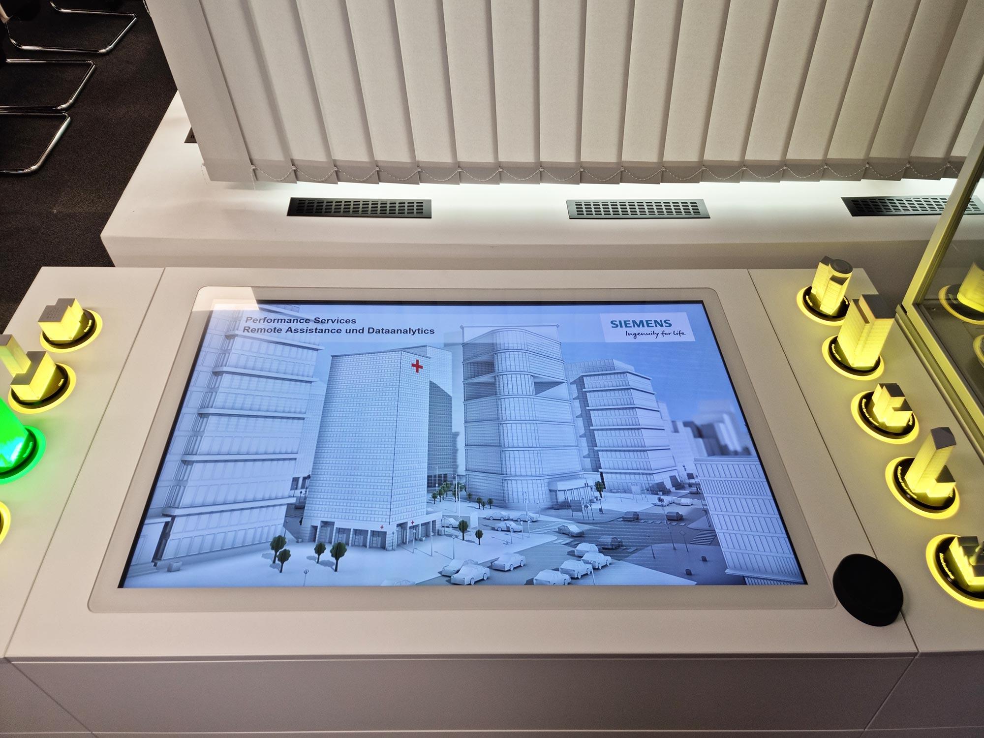 Siemens Remote Services und Data Analytics