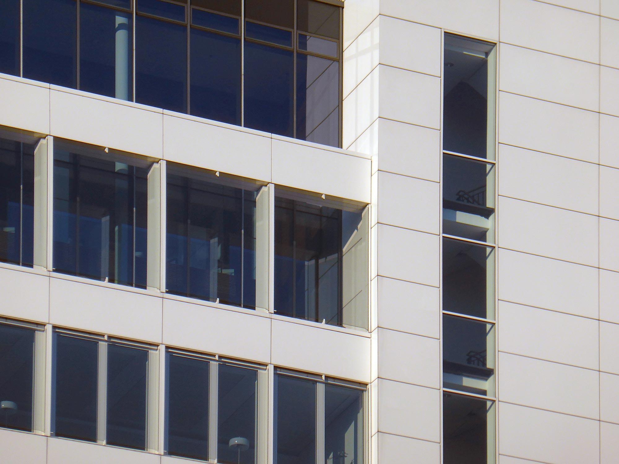 Sparkassen Hochhaus FFM - Frankfurt Finanz Informatik - Hochhaus Fassade