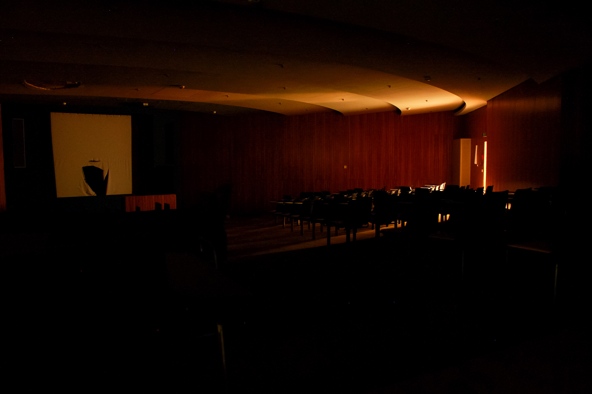Grosser Konferenzraum , Vitopia Offenbach , Baustelle Offenbach , KWU-Areal , Leerstand , Ghost Tower , Siemens , Framatom , Lost Places , Urban Exploring , Energie , Kernkraftsparte