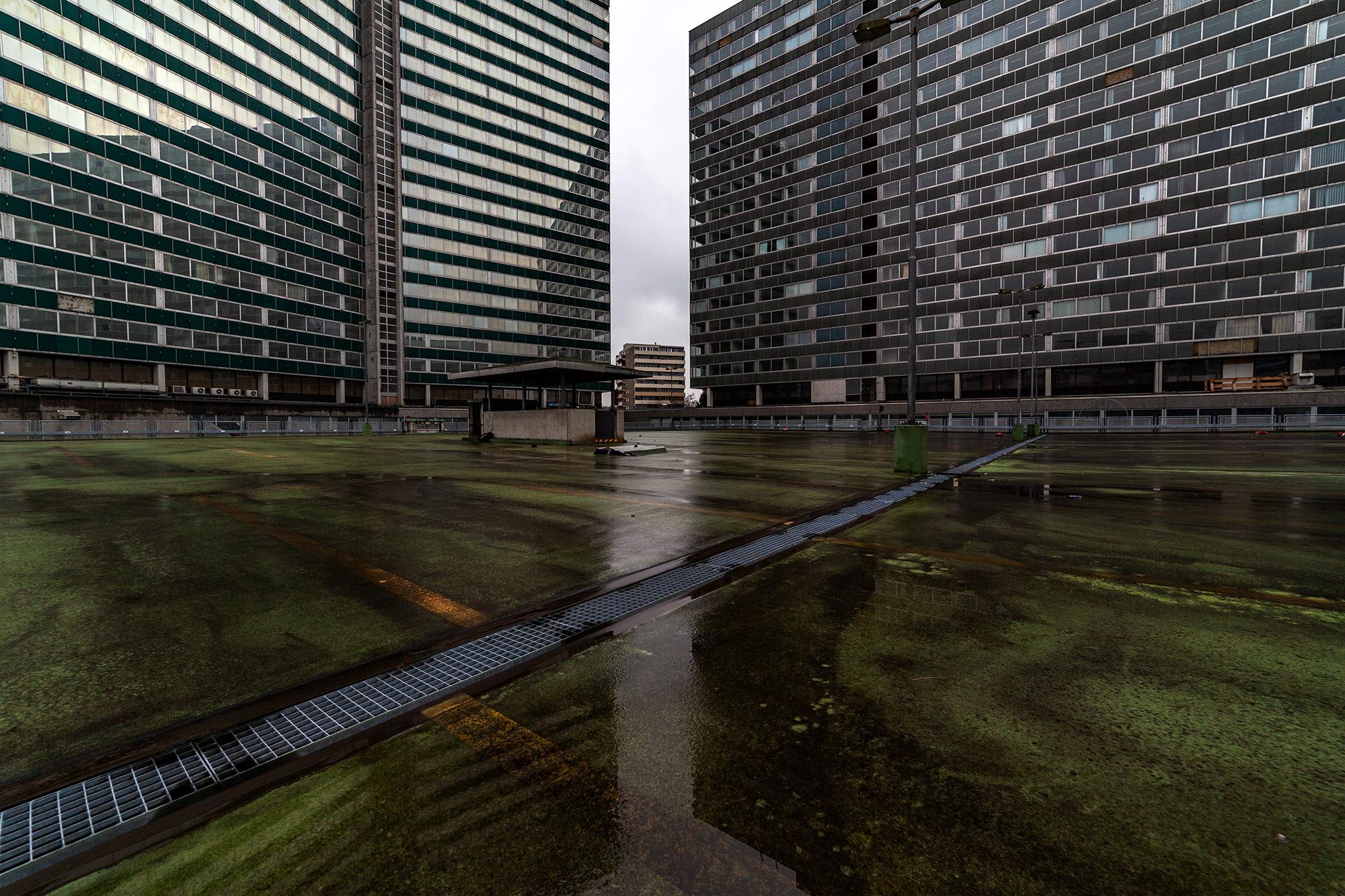 KWU Parkfläche , Vitopia Offenbach , Baustelle Offenbach , KWU-Areal , Leerstand , Ghost Tower , Siemens , Framatom , Lost Places , Urban Exploring , Energie , Kernkraftsparte