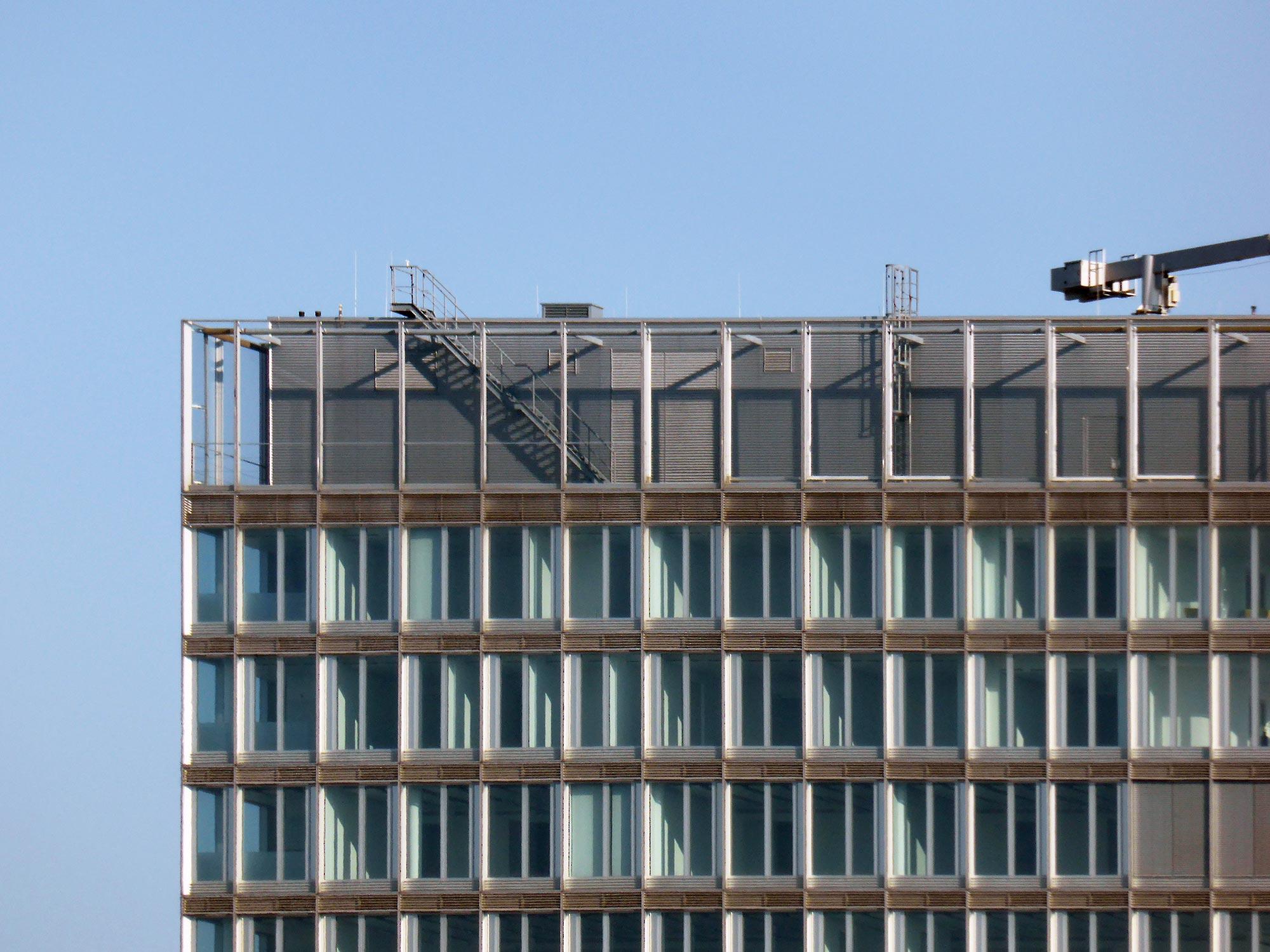 Cielo FFM - Frankfurt am Main - Commerzbank Büros - Fassade
