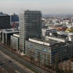 Cielo Frankfurt - Commerzbank AG - Eigentümer RFR Holding - Gewers Kühn & Kühn - City West FFM- Luftaufnahme