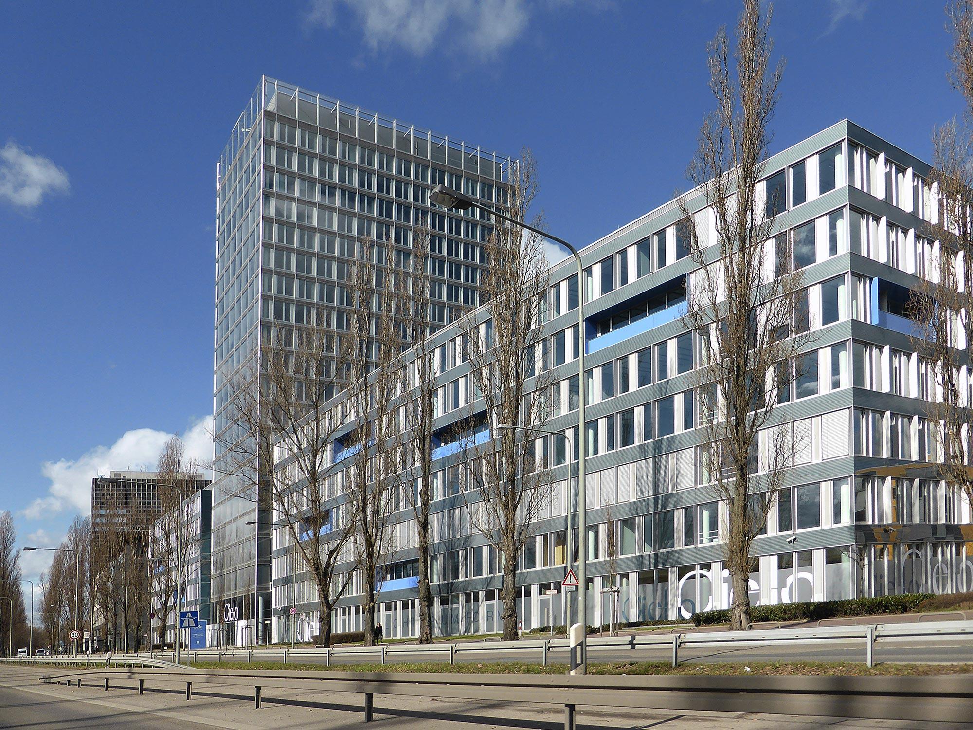 Frankfurt Cielo Bürohaus - Theodor Heuss Allee FFM