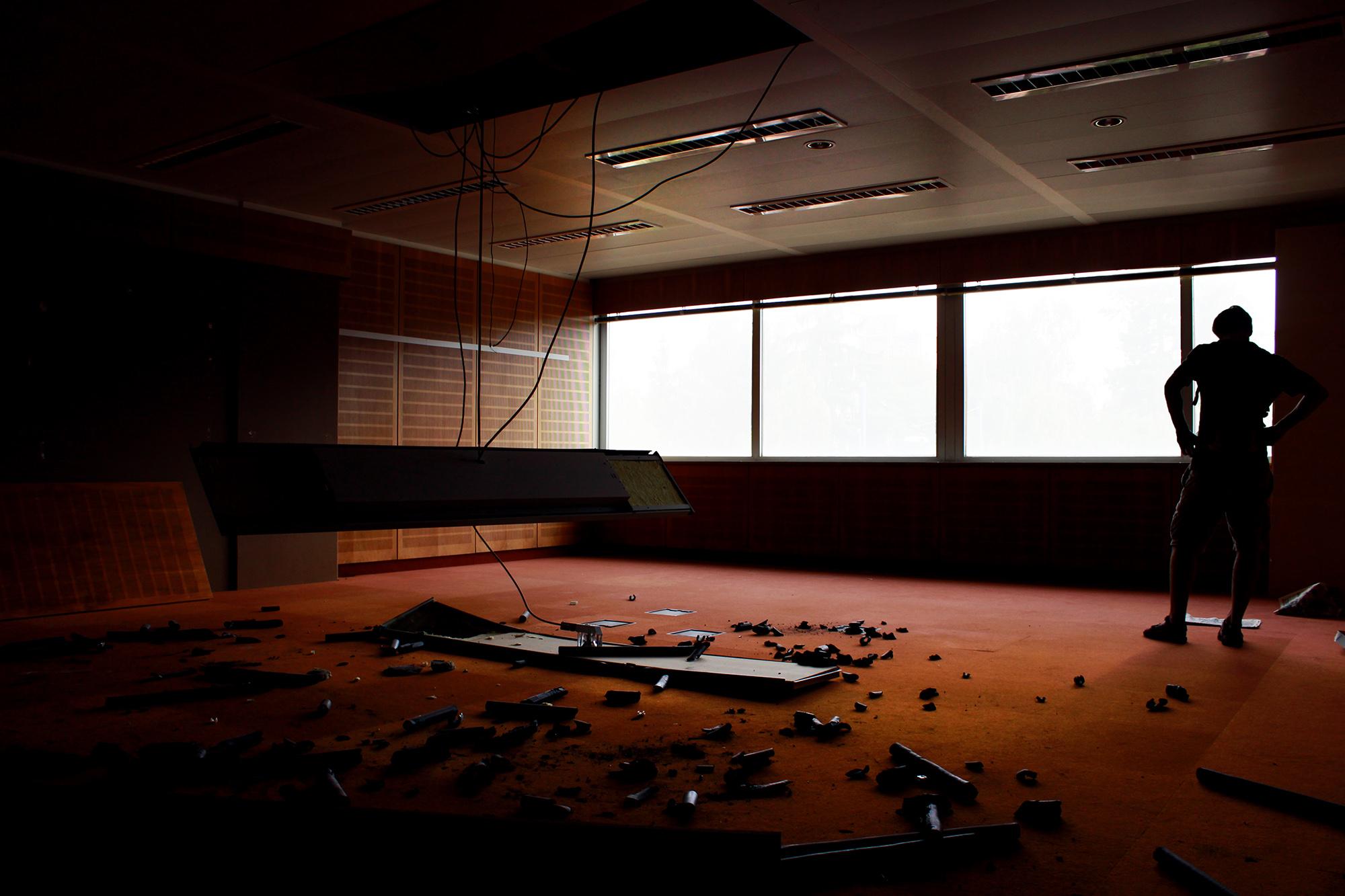 Kleiner Konferenzraum , Vitopia Offenbach , Baustelle Offenbach , KWU-Areal , Leerstand , Ghost Tower , Siemens , Framatom , Lost Places , Urban Exploring , Energie , Kernkraftsparte