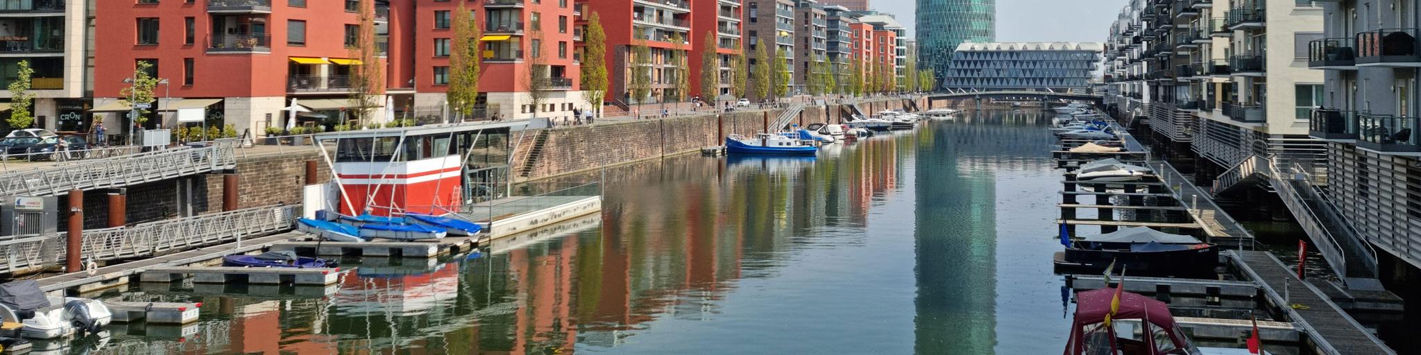 Marina Westhafen - Westhafen Marina in Frankfurt am Main