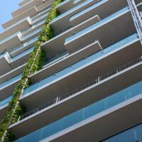 Eden Tower Frankfurt erhält Bepflanzung