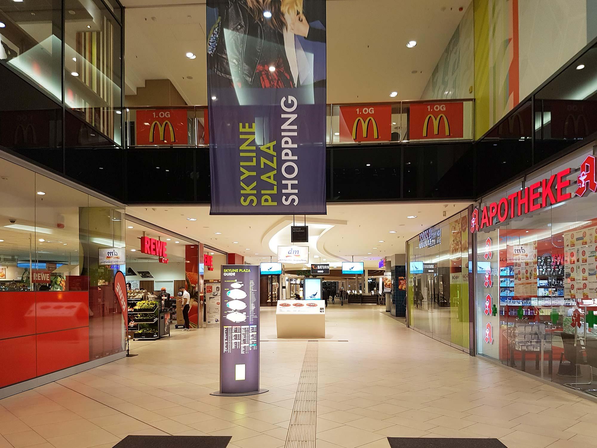 Frankfurt Skyline Plaza - FFM Shopping Zentrum Skyline Plaza - Skyline Plaza Shopping