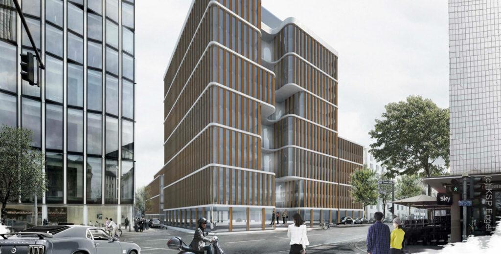 Mainzer Landstraße 23 in Frankfurt am Main - Mainzer Landstrasse 23 FFM - KSP Engel Architekt - CV Real Estate AG Projektentwickler