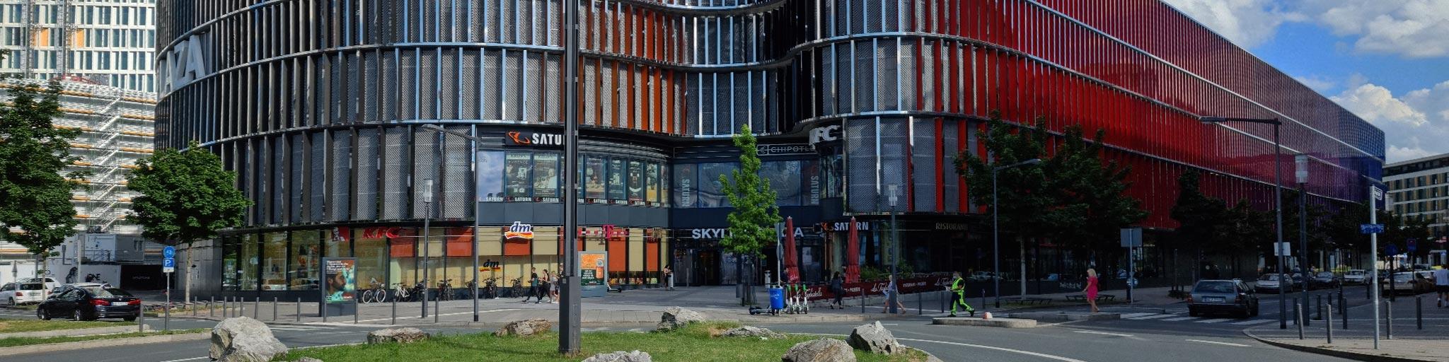 Skyline Plaza Frankfurt - Skyline Plaza Einkaufszentrum - Frankfurt Skyline Plaza - Skyline Plaza FFM