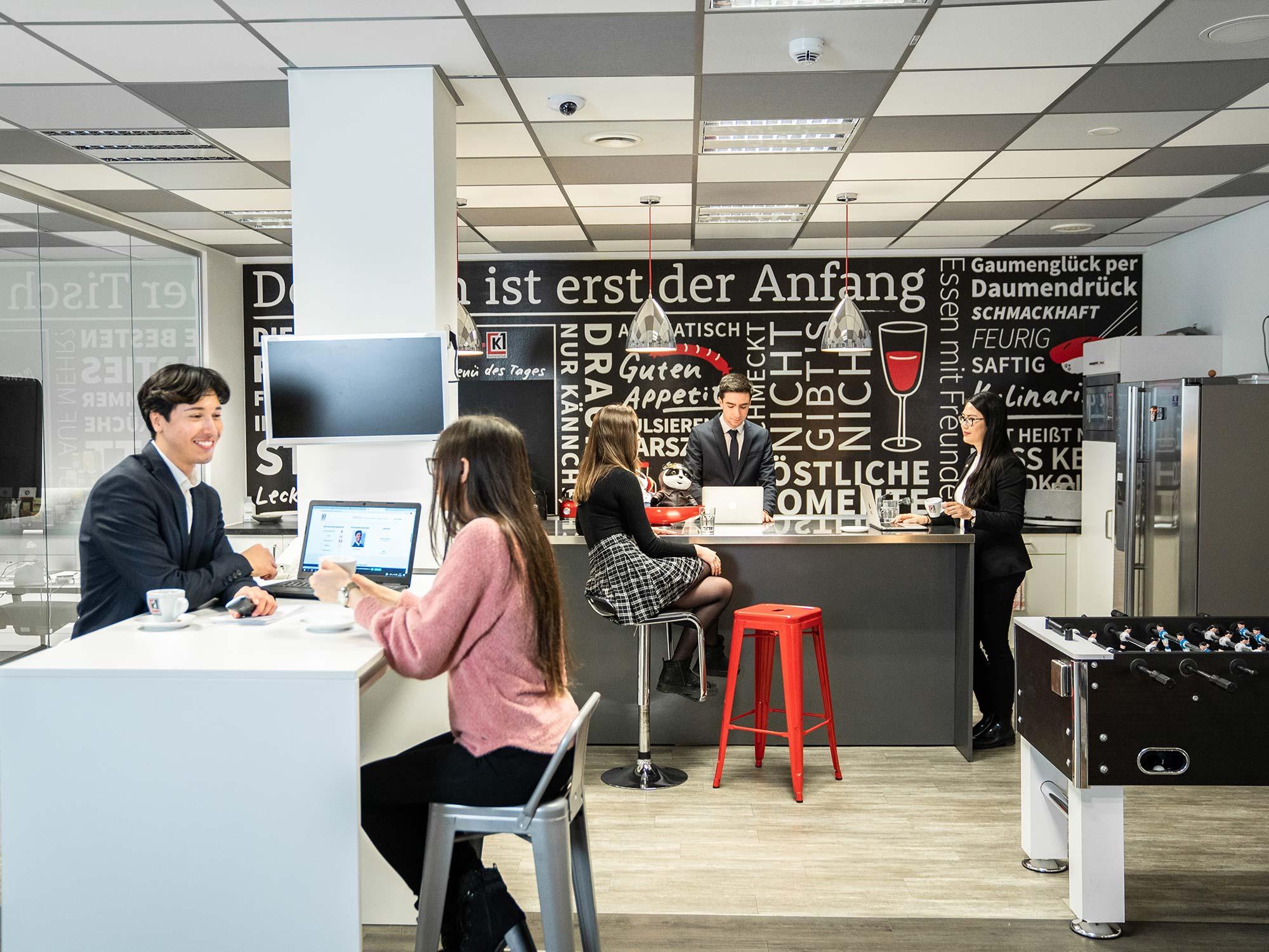 K1 Businessclub Frankfurt - K 1 Frankfurt am Main - Coworking Frankfurt - Büros zur Miete - Kurzzeitmiete