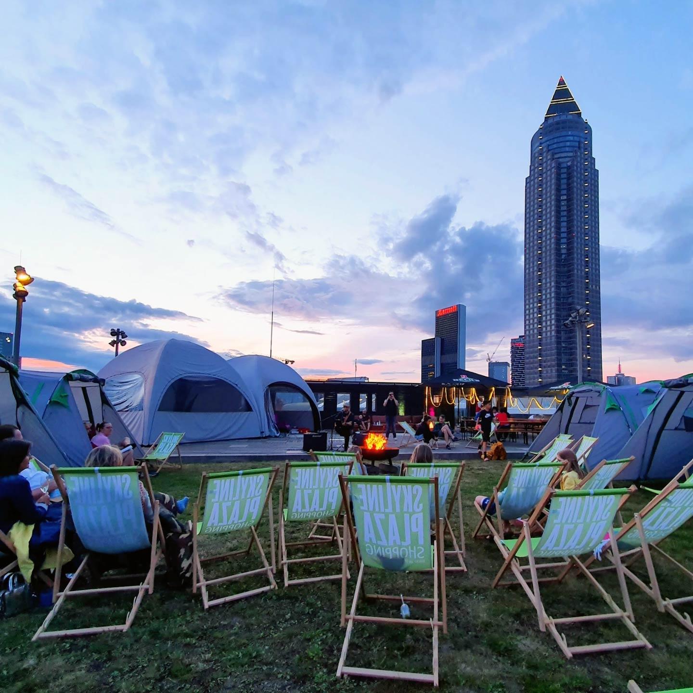 Skyline Plaza Camping - Campingplatz Frankfurt - Beonderes Event Frankfurt - Skylinecamping FFM - Lounge