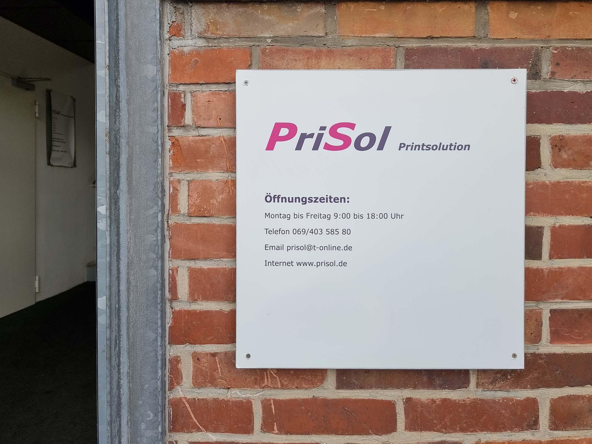 PriSol Frankfurt am Main - Gwinnerstraße - PriSol Adresse - Prisol FFM