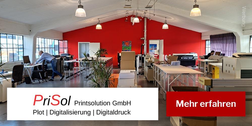 Prisol - Plotten - Digitalisierung - Drucken - Druckerei in Frankfurt am Main